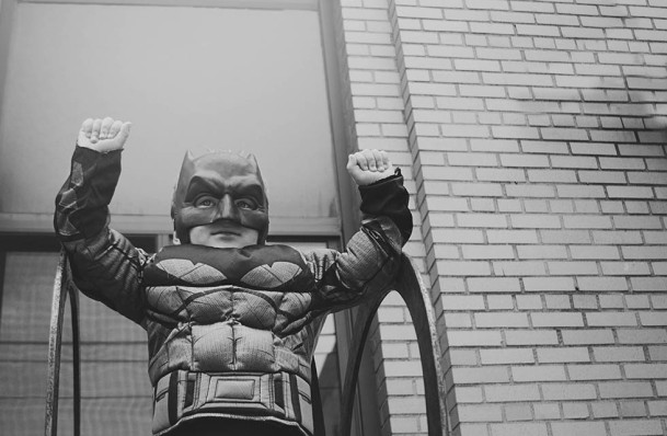 Superhero One - 86bw
